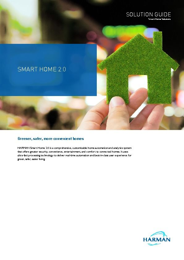 HARMAN - Smart Home - Brochure