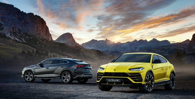 All New Lamborghini Urus Steps Out With Spectacular Bang Olufsen