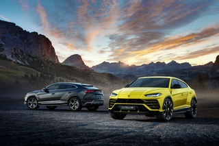 All New Lamborghini Urus Steps Out with Spectacular Bang & Olufsen Sound System