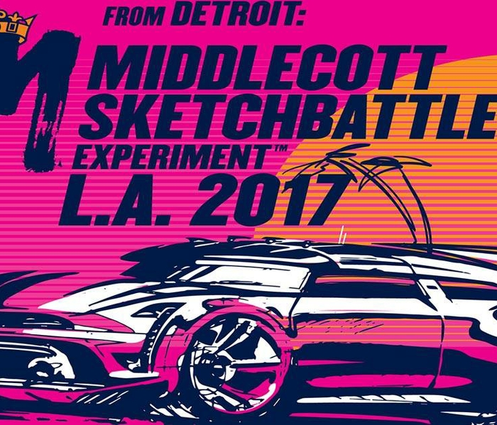 HARMAN Inspires the Next Generation of Automotive Designers with Middlecott Sketchbattle Experiment™ at the 2017 LA Auto Show