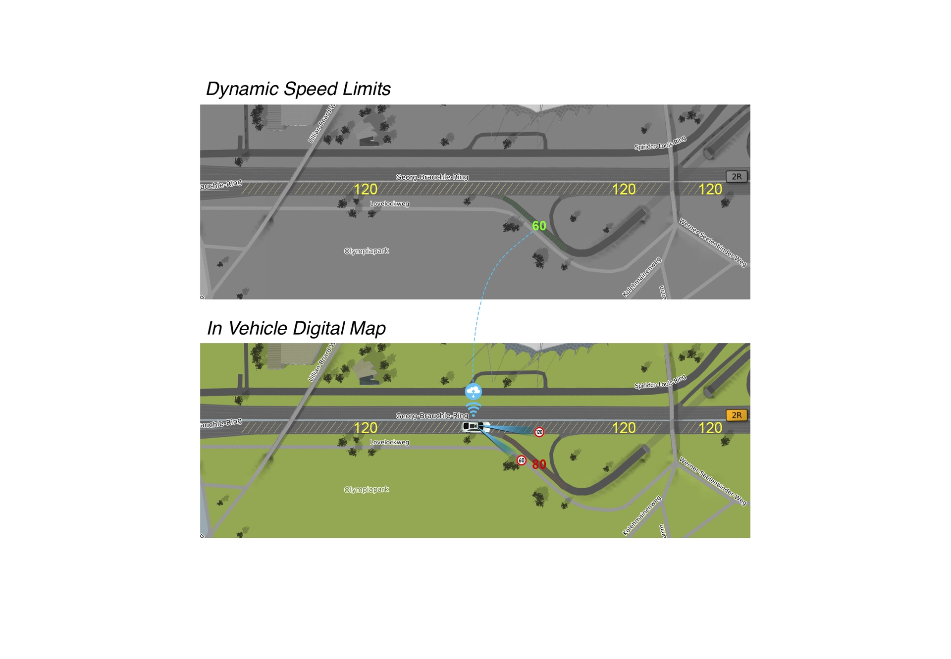 Dynamic Map Life Layers Graphic