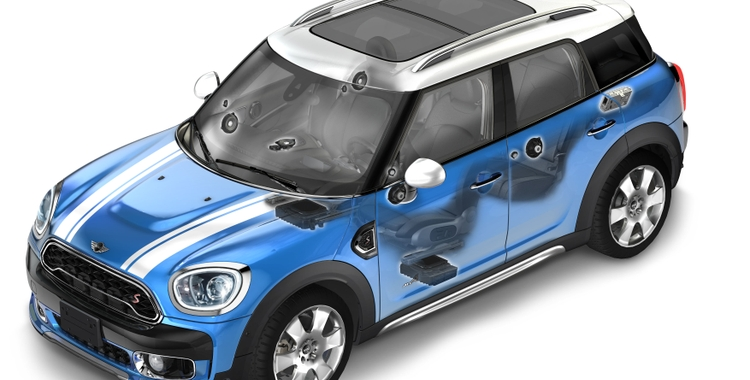Harman Kardon Delivers Premium Sound for the All-New  MINI Countryman