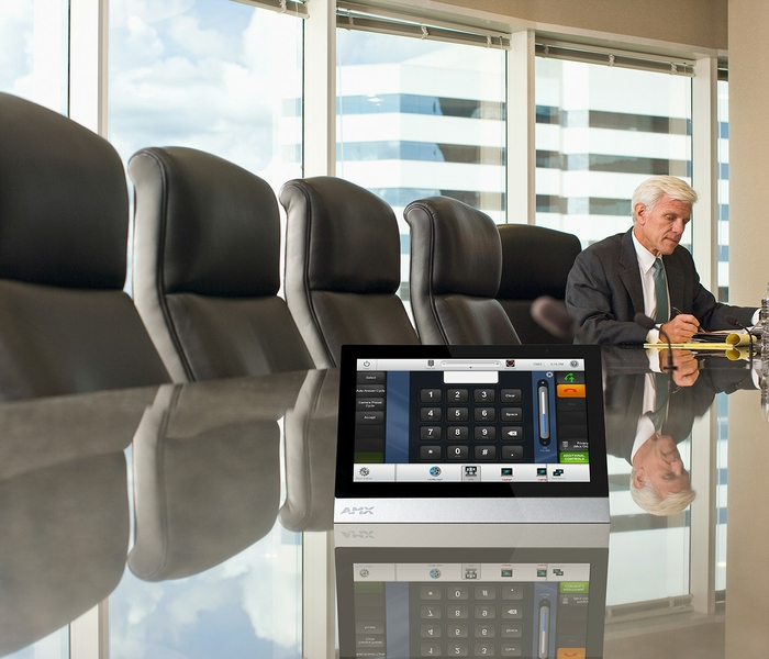conference room touch panel