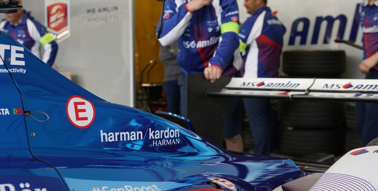 Harman Kardon and BMW i Jointly Sponsor Team MS Amlin Andretti Race Team in the FIA Formula E Championship