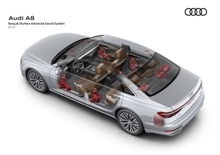 Bang & Olufsen brings 3D sound to the new Audi A8