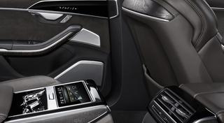Bang & Olufsen 3D Advanced Sound System speaker grilles rear Source:Audi