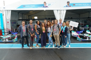 Car Audio Team Invites Influencers Along for the Ride at NYC ePrix