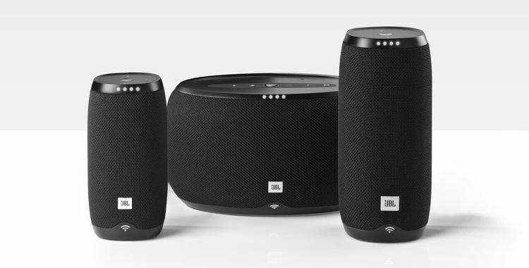 Die neue JBL® LINK-Serie: Immersiven JBL Sound gibt es jetzt auch mit Google Assistant