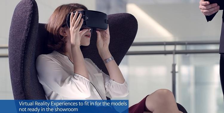 Nexshop VR experience