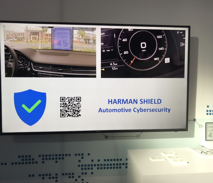 HARMAN SHIELD Sensor Spoofing Demo at CES 2018