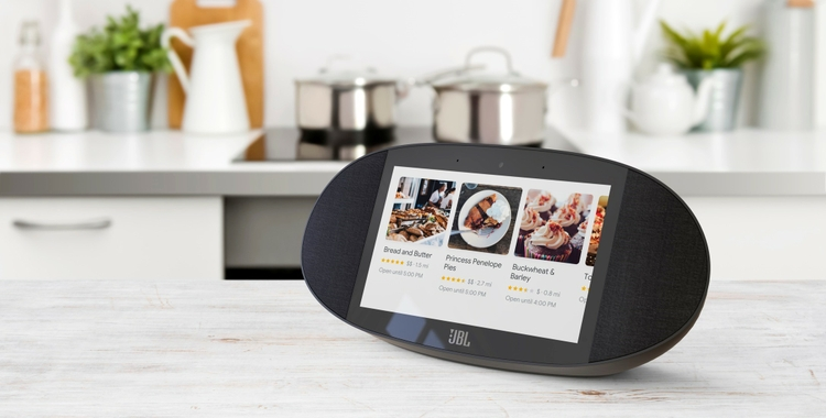 480401b02f9 JBL® Announces LINK View, A Smart Display Speaker with The Google Assistant