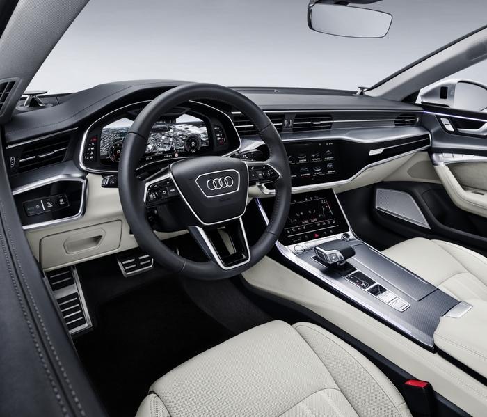 2017-11 Audi A7 Sportback interior