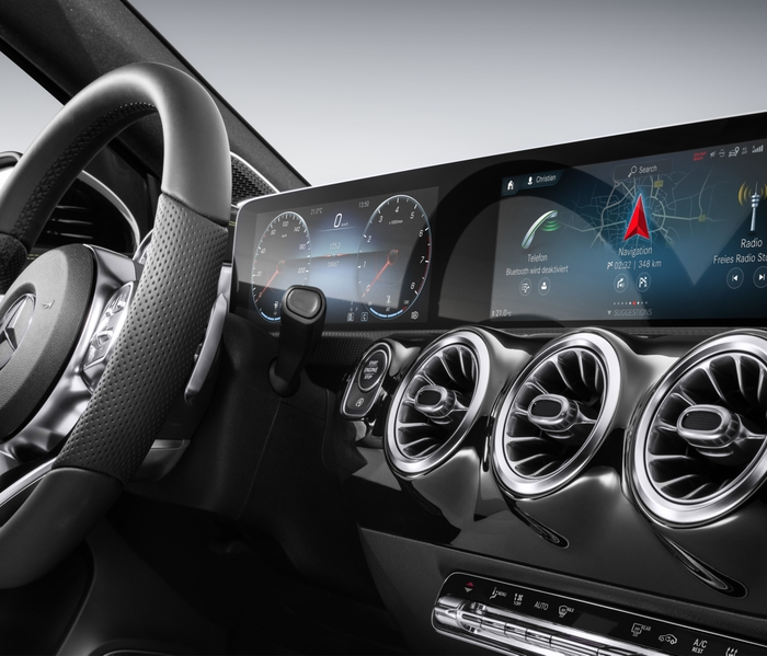 HARMAN and Daimler Bring the First AR-Capable Infotainment System to Market with the Mercedes-Benz A-Class