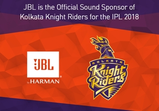 JBL® Signs On as Official Sound Sponsor of Kolkata Knight Riders for the 2018 Edition of Indian Premier League