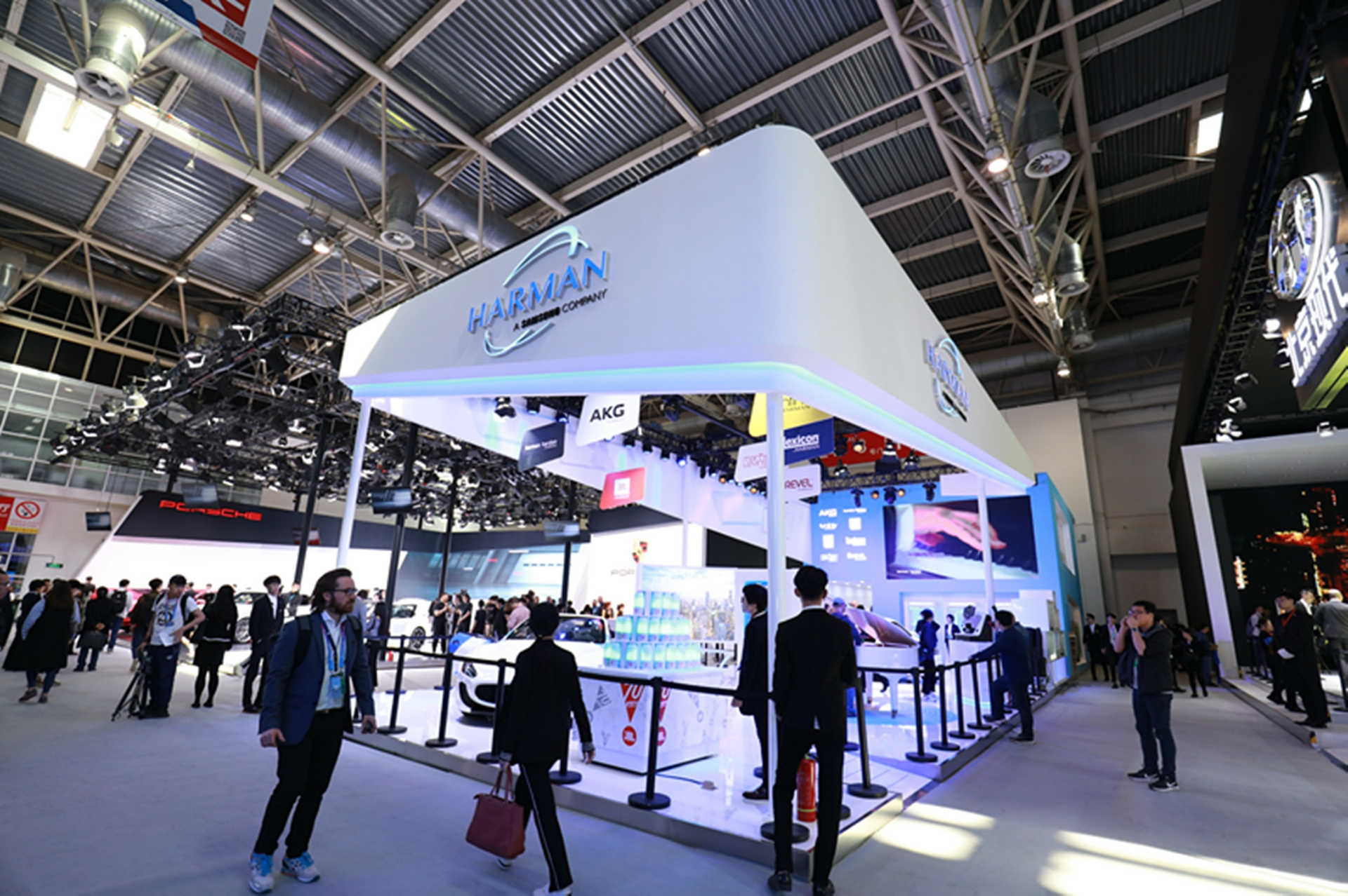 HARMAN Booth at 2018 Auto Beijing