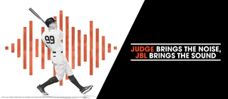 All Rise, Aaron Judge Joins JBL® as New Global Brand Ambassador