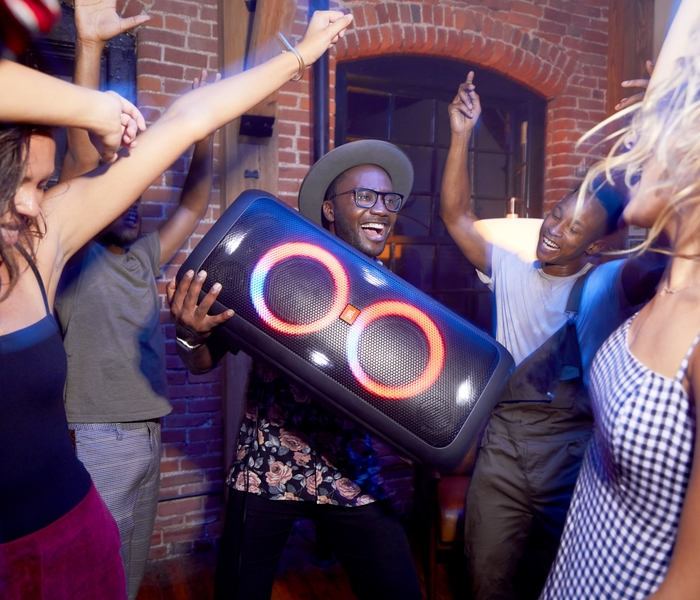 JBL's PartyBox Speakers Set the Stage for An Epic Event | HARMAN