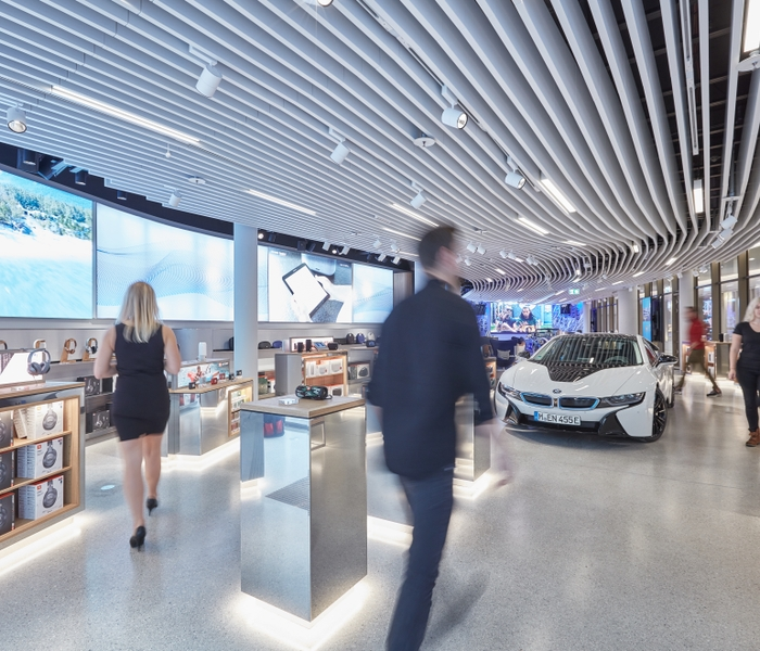 HARMAN Experience Store Car _ Fixtures