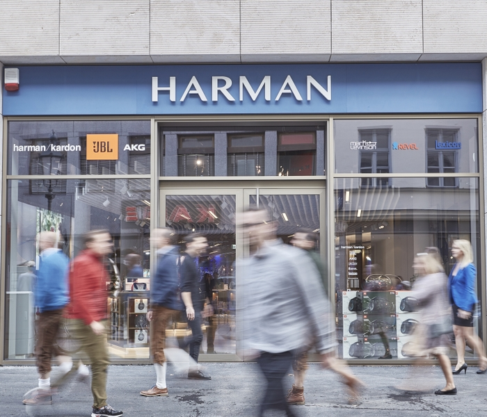 HARMAN Experience Store Store Front