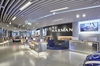 哈曼在欧洲开了第一家体验店,创造了一个速度与声音交汇的独特空间