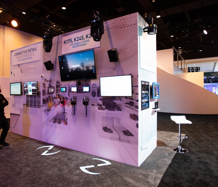 Professional Solutions Powers HARMAN's CES Exhibit