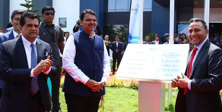 HARMAN Chakan Plan Phase II Innaguration by CM Maharashtra - I
