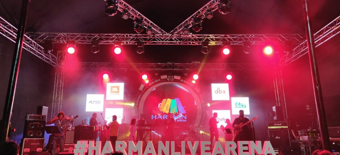 HARMAN Live Arena Stage at Palm Expo