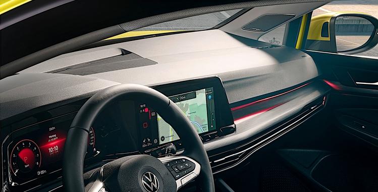 VW Golf 8 with Harman Kardon Audio