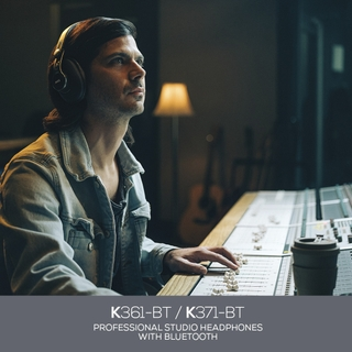 AKG Announces New K361-BT and K371-BT Professional Studio Headphones with Bluetooth at the 2020 NAMM and CES Shows