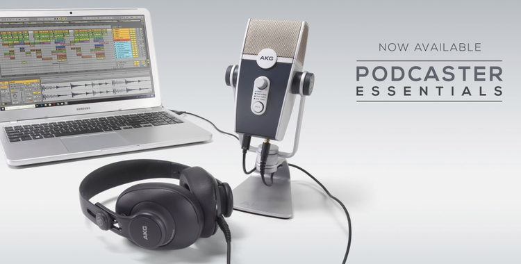 AKG Podcaster Essentials