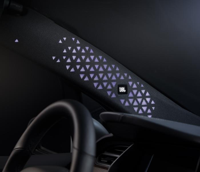 EV Plus Solutions JBL Speaker Front