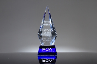 FCA North America_Supplier of the Year_Trophy