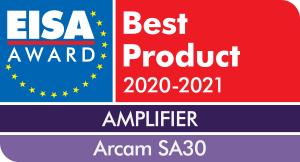 Logo - EISA-Award-Arcam-SA30