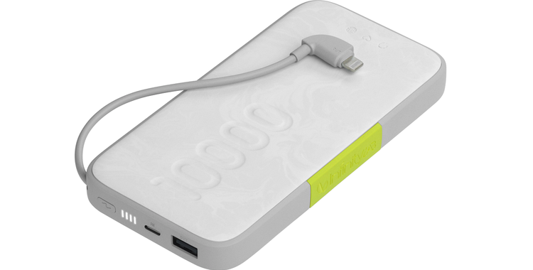 InfinityLab InstantGo 10000 Built-in Lightning Cable