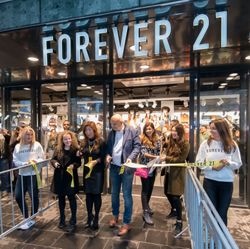 FOREVER 21 GRAND OPENING AT BEURSTRAVERSE ROTTERDAM, NETHERLANDS