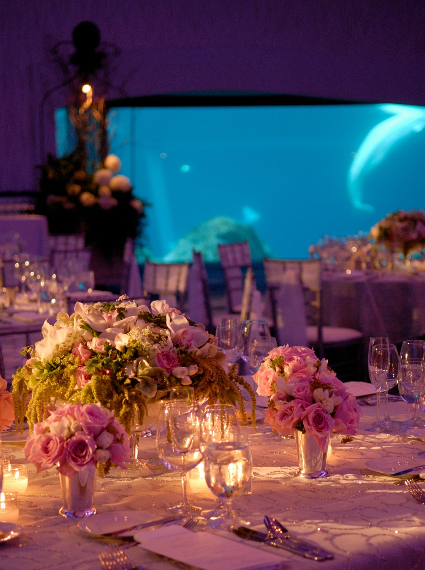 Arctic Room - Table decorations