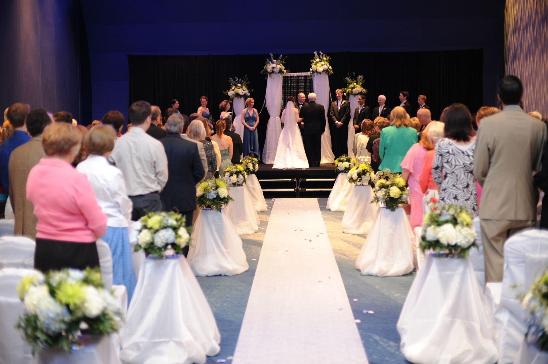 Atlantic Room - Wedding ceremony