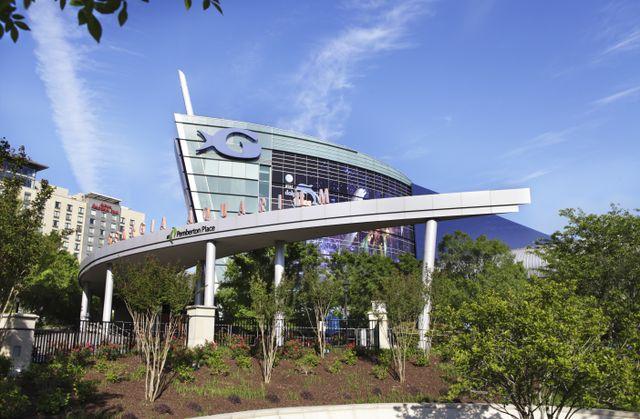 Georgia Aquarium Exterior