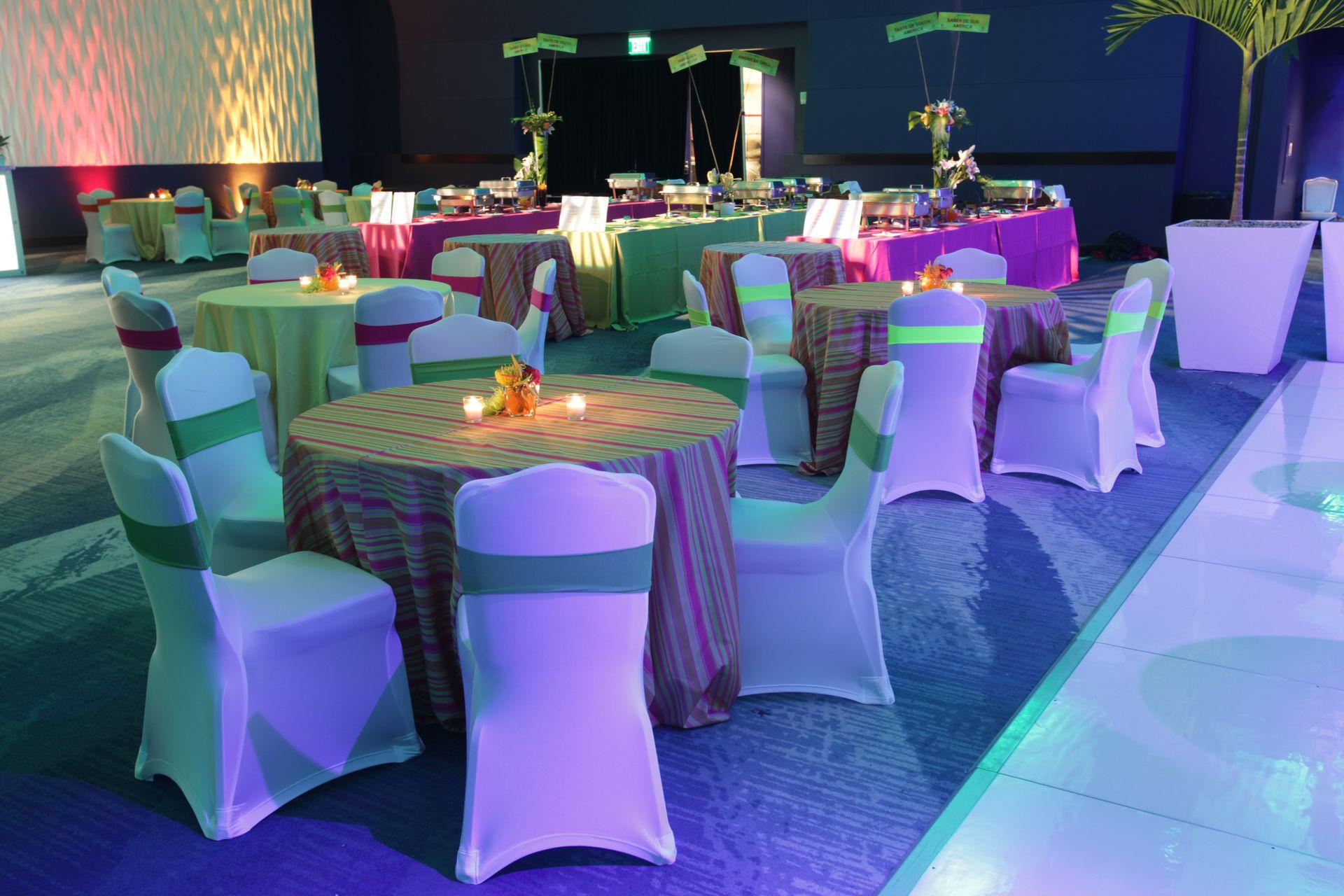 Oceans Ballroom - Table Pods