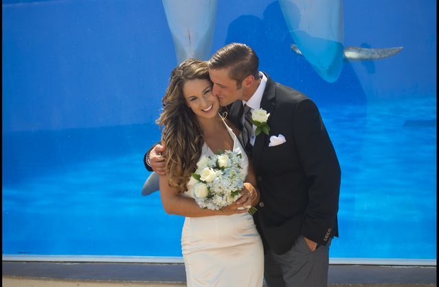 Wedding at Marineland