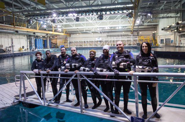Wounded Warrior Project Visits Georgia Aquarium