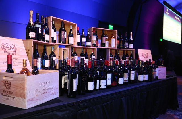 Aqua Vino Wine Display