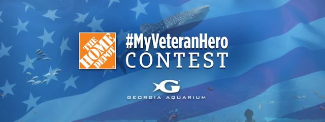 Georgia Aquarium Honors Veterans Through #MyVeteranHero Contest