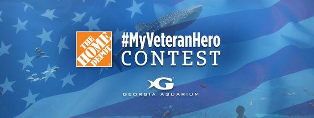 Georgia Aquarium Honors Veterans Through #MyVeteranHero Contest