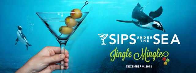 Get in the Holiday Spirit at Georgia Aquarium's Sips Under the Sea: Jingle Mingle