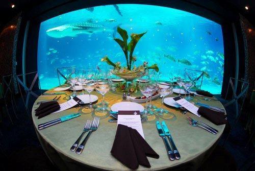 Oceans Ballroom - Table Set Up