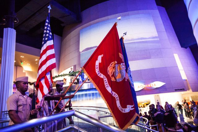Georgia Aquarium Salutes Our Military this Memorial Day