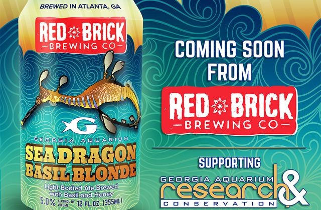 Red Brick Brewing Co. and Georgia Aquarium Announce Fourth Beer in Line-Up