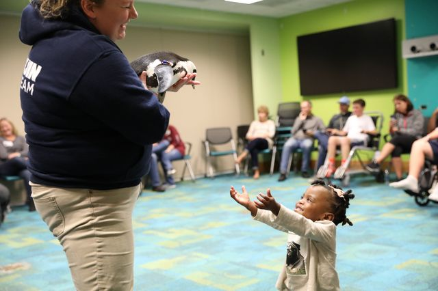 Georgia Aquarium Visits Children's Healthcare of Atlanta