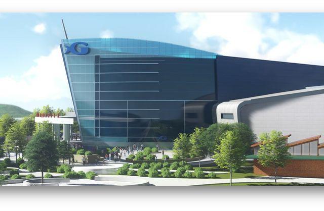 GAI Plaza Exterior NEW Front